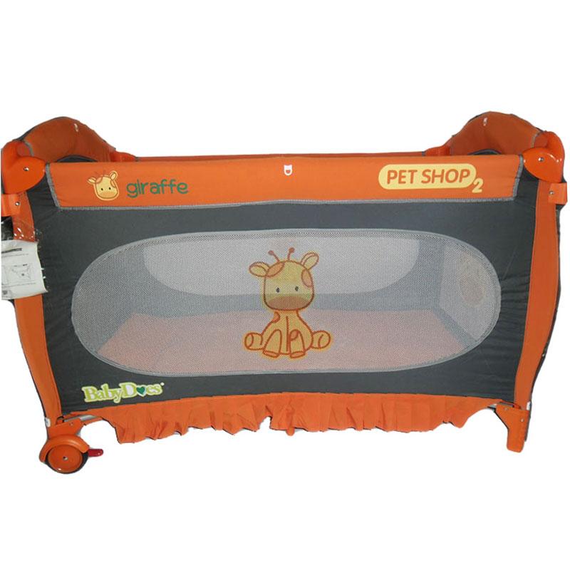 Creative Ranjang Bayi Baby Box 808 Orange .