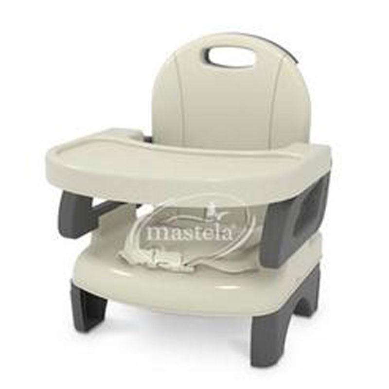 Klikbabylove Folding Booster Seat Mastela Grey Cream 07330