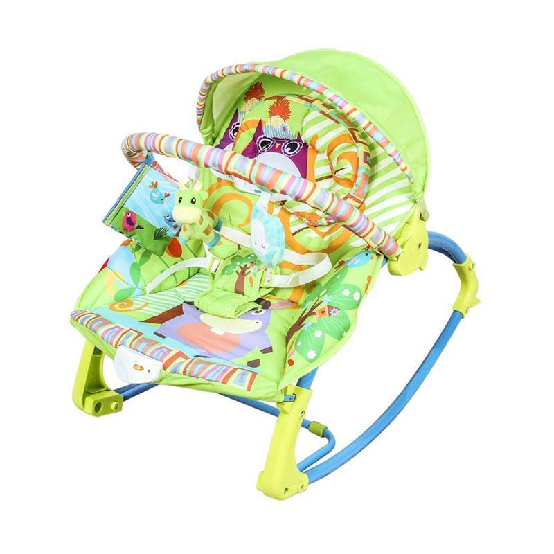 Klikbabylove Pliko Pk 306 Piccola Rocking Chair Green